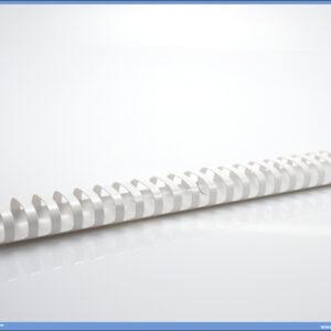 Spirala za koričenje 20mm 1/100 BELA