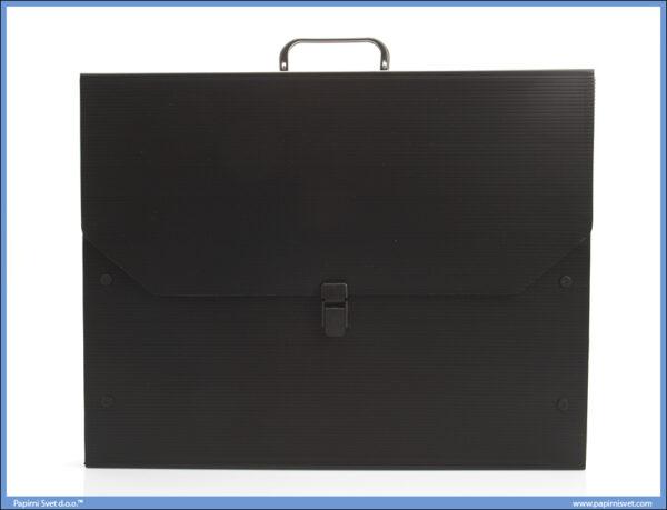 Torba Folder B2 DPT 73,5x52cm PVC Crni