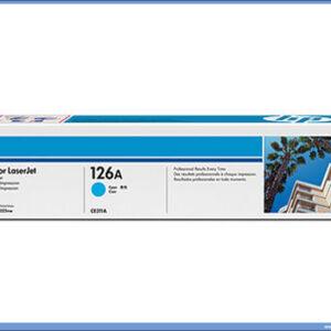 HP Toner CE311A CYAN 126A