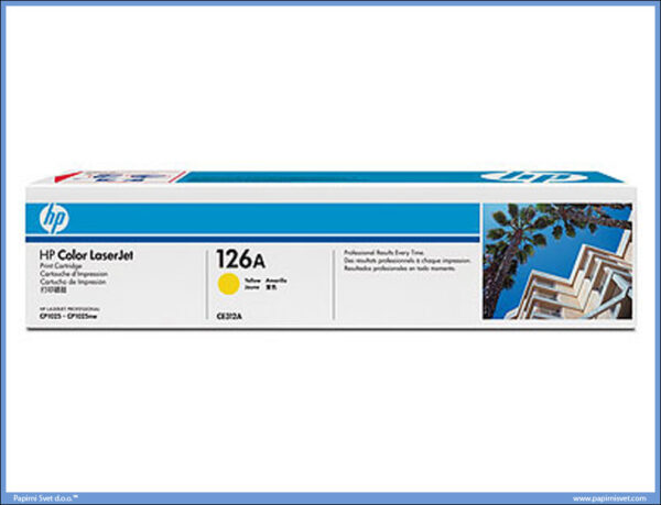 HP Toner CE312A YELLOW 126A