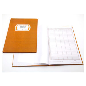 EDI Knjiga evidencija dnevnih izveštaja A4 tvrdi povez