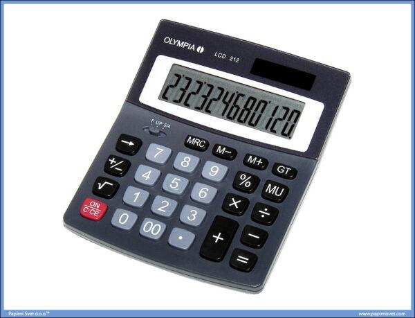 Kalkulator-Digitron OLYMPIA LCD 212