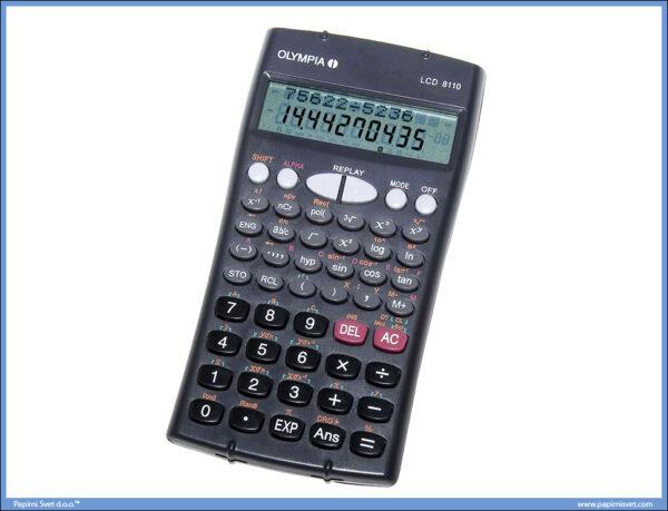 Kalkulator-Digitron tehnički OLYMPIA LCD 8110