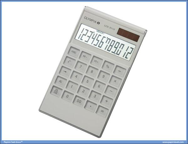 Kalkulator-Digitron OLYMPIA LCD 3112