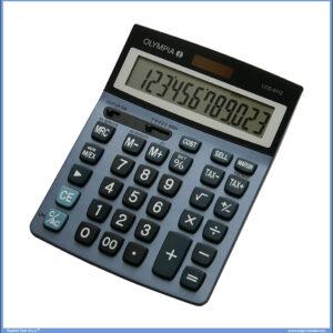 Kalkulator-Digitron OLYMPIA LCD 6112