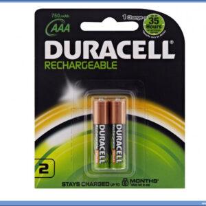Punjive baterije AAA750mAh 1/2 DURACELL