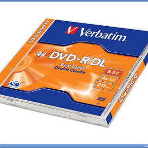 DVD-R 4X VERBATIM 8.5GB Dual LAYER