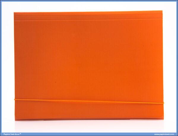 Fascikla kartonska A4 sa gumom NARANDŽASTA