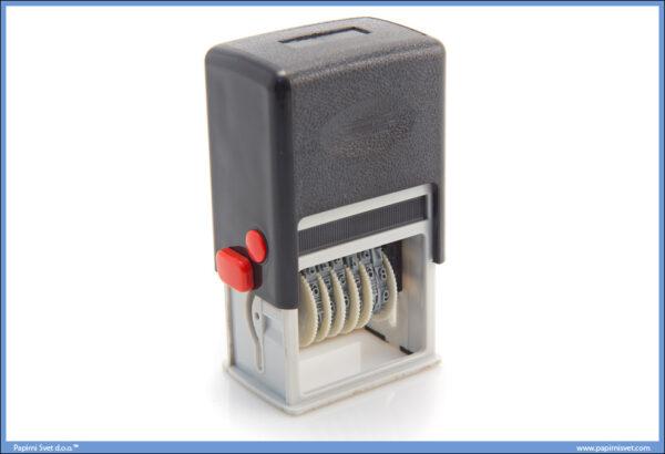 Numerator automatski 6 cifara PVC KL-Q2000