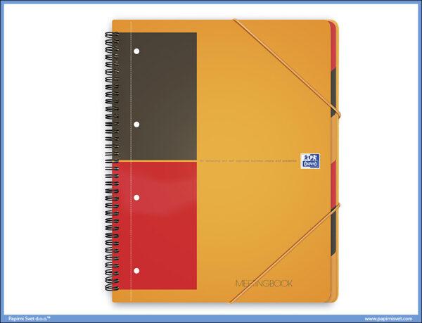 Sveska A4+ Oxford International Meetingbook kvadratići