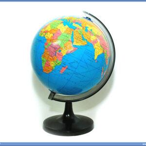Globus fizičko-geografski 18cm prečnik