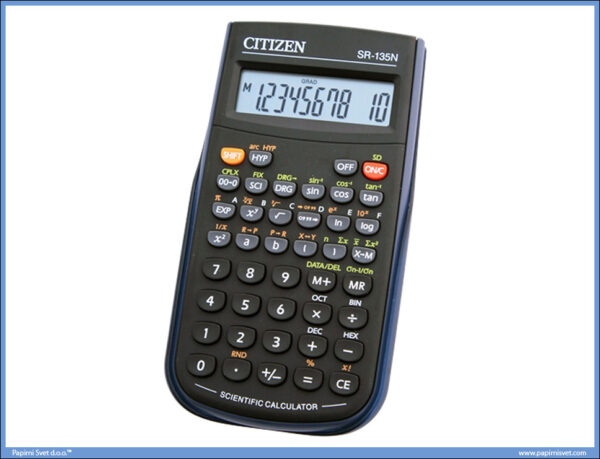 Tehnički kalkulator SR-135N 10 cifara, Citizen