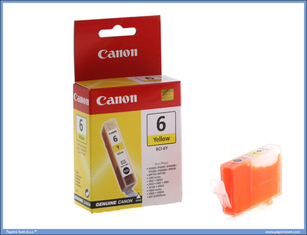 Canon printcartridge Yellow BCI-6M