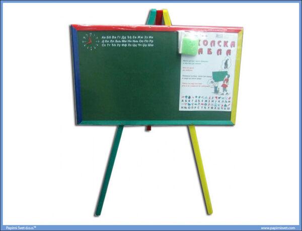 Tabla školska sa postoljem veća 49x38cm