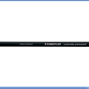 Permanentna olovka crvena GLASOCHROM, Staedtler