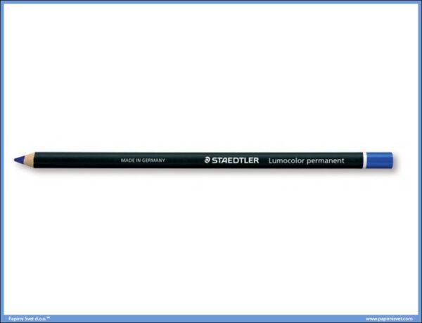 Permanentna olovka plava GLASOCHROM, Staedtler