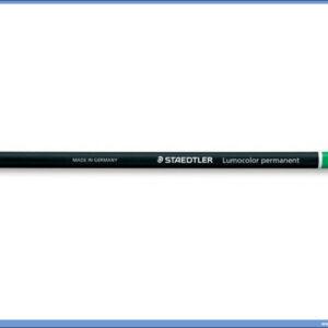 Permanentna olovka zelena GLASOCHROM, Staedtler