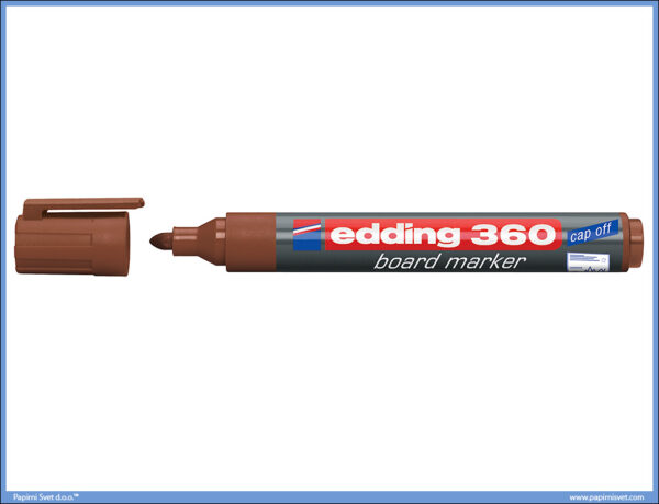 Whiteboard Marker za belu tablu BRAON 360, Edding