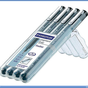 Pigment liner - zamena za rapidografe 0.1-0.7mm, Staedtler