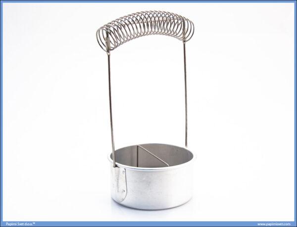Aluminijumska posuda za pranje četkica