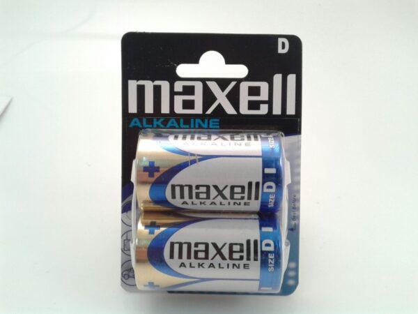 Baterije LR20 1,5V Alkaline 1/2, Maxell