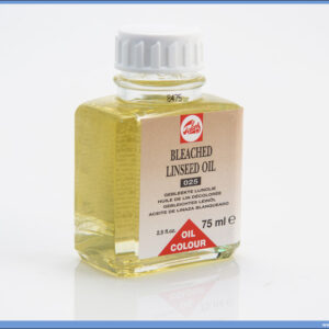 Laneno ulje BLEACHED LINSEED OIL 025 75ml, Talens