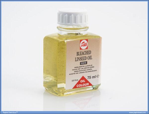 Laneno ulje BLEACHED LINSEED OIL 025 75ml, Talens