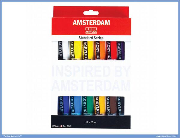 Akrilne boje u setu 1/12 AMSTERDAM, Talens