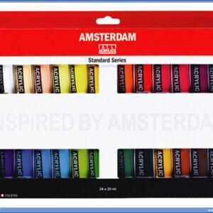 Akrilne boje u setu 1/24 AMSTERDAM, Talens