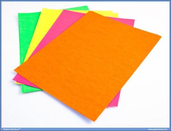 Papir A4 80gsm mix FLUORESCENT boje 16l, Campap