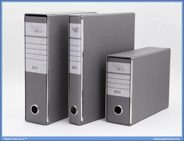 Registrator A4 sivi, Biroline 02