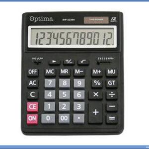 Kalkulator digitron veliki SW-2239A 12 cifara, Optima