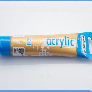 Akrilna boja GOLD ZLATNA 60ml, Professional