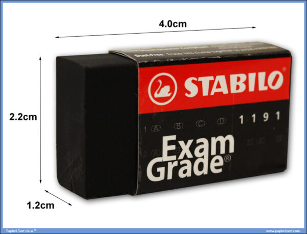 Gumica za brisanje EXAM GRADE, Stabilo