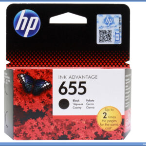 HP No.655 CZ109AE Black Ink Cartridge
