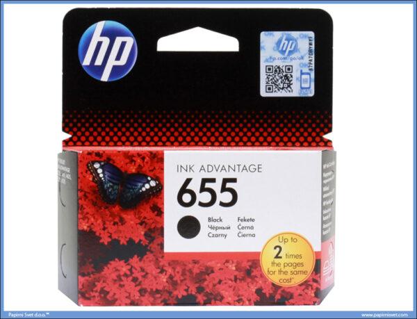 HP No.655 CZ109AE Black Ink Cartridge