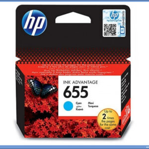 HP No.655 CZ110AE Cyan Ink Cartridge