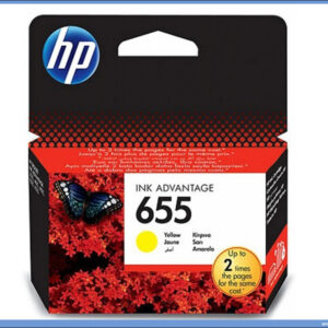 HP No.655 CZ111AE Yellow Ink Cartridge