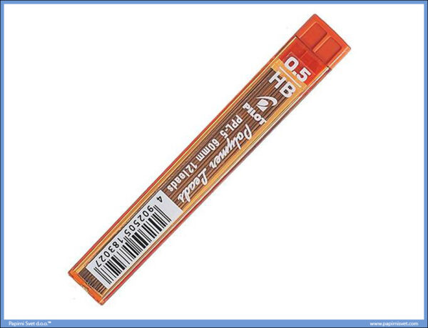 Mine za tehničku olovku 0,5mm HB Polymer Leads, Pilot