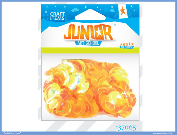 Kreativni pribor PATKICE 22mm 14gr, Junior