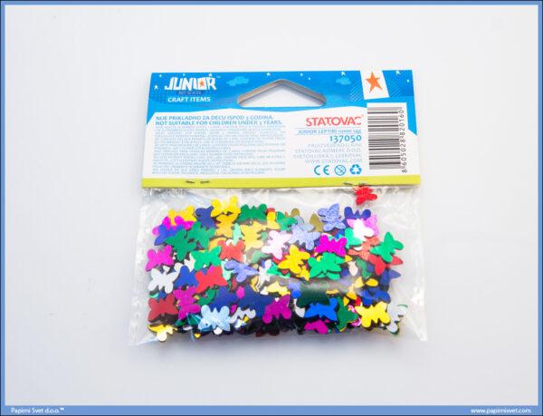 Kreativni pribor LEPTIRIĆI 11mm 14gr, Junior