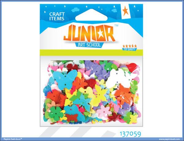 Kreativni pribor CVET-LEPTIR MIX 14gr, Junior
