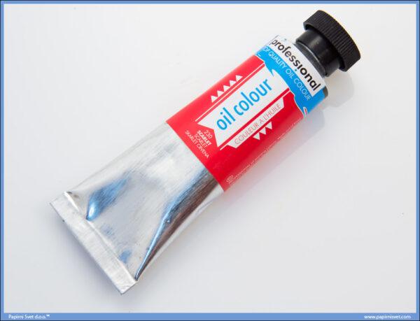 Uljana boja 45ml SCARLET, Professional