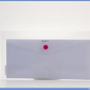 Fascikla PVC amerikan A1855 TRANSPARENT, Comix