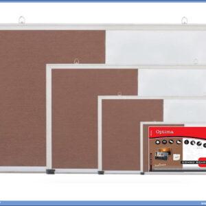 Tabla kombinovana BELA-PLUTO 45x60 aluminijumski ram, Optima