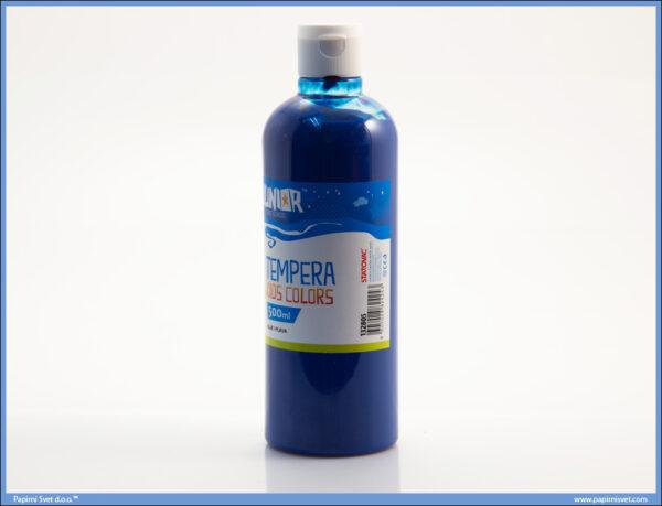 Tempera XL KIDS COLORS 500ml PLAVA, Junior