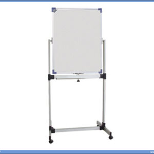 Bela tabla magnetna POKRETNA-OKRETNA 60x90cm