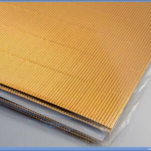 Karton rebrasti B2 50x70cm METALIC GOLD 165gr 1/10