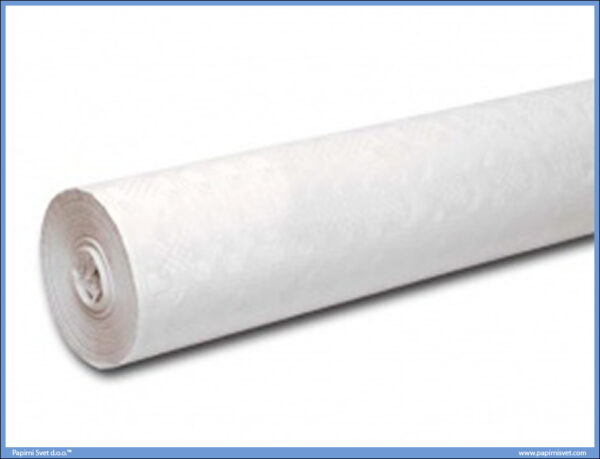 Papirni stolnjak BELI 10m x 1,2m