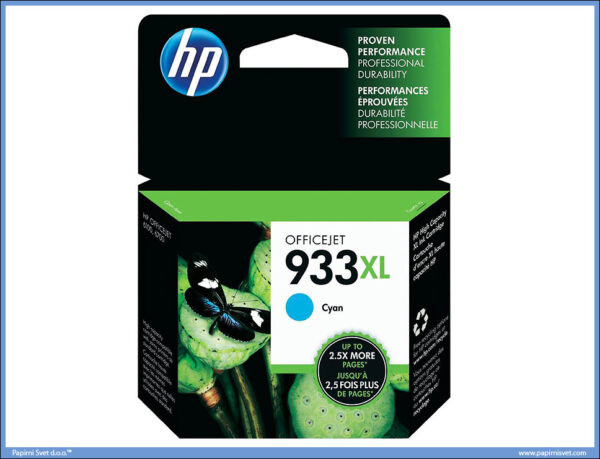 HP 933XL CYAN PLAVI Inkjet Print Cartridge [CN054AE]